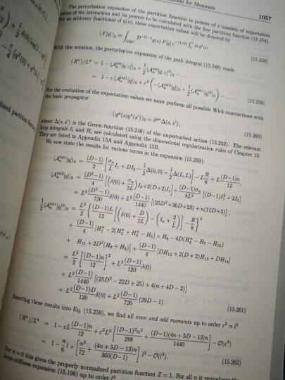 量子力学、统计学、聚合物物理学和金融市场中的路径积分(第2分册 第5版) 晒单图