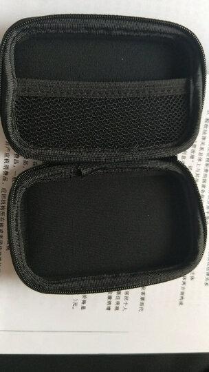 BUBM TSB-C耳机包防水防摔收纳盒充电数据线收纳包读卡器U盘蓝牙耳机包 黑色 晒单图