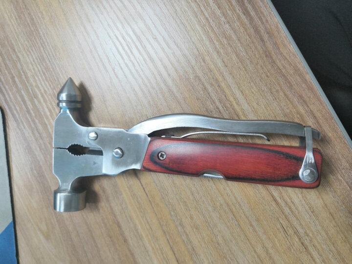 狼爪汽车安全锤 16合一多功能逃生锤救生锤 野外活动工具 安全锤破窗器 晒单图