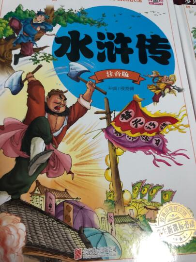 四大名著青少儿童版彩图注音少儿读物童书7-10-11-14岁水浒传三国演义西游记一二三年级学生版读物 晒单图