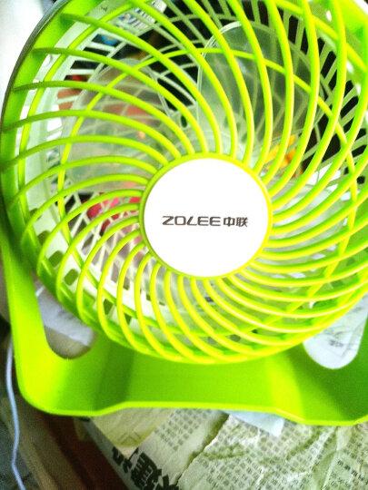 中联(ZOLEE)USB小风扇迷你电风扇静音学习办公室小台扇学生宿舍小电扇桌面小型台式电扇 单品 晒单图