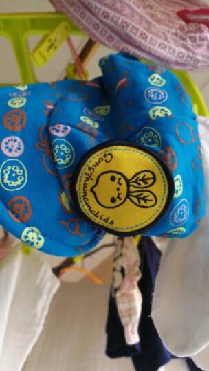 哎尚倪 四季男女宝宝帽夏季婴儿儿童帽宝宝套头帽婴儿帽子棒球帽春秋套装男女宝棉帽儿童口水巾 粉色帽子+口水巾 晒单图