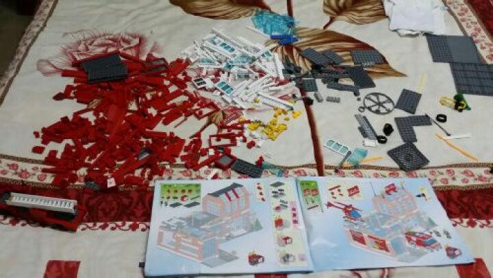 v视频(Englighten)拼插视频积木拼装益智图纸消儿童玩具公路图片