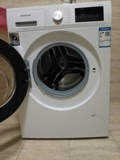 西门子(SIEMENS) 9公斤 变频滚筒洗衣机 静音 除菌 LED 触屏 加速洗 节能洗(白色)WM12P2R09W 晒单图