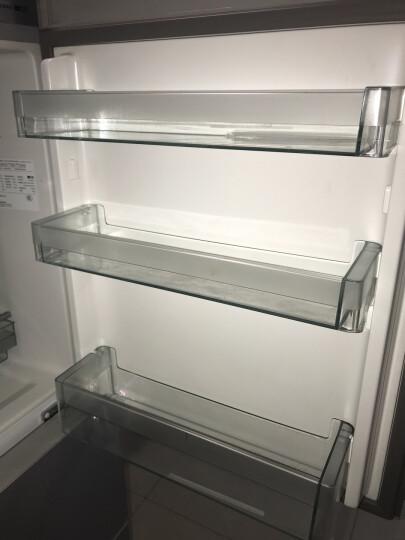 松下(Panasonic)280升变频风冷无霜三门冰箱 -3℃微冻保鲜 高效节能快速冷冻 磨砂金 NR-EC28WP1-N 晒单图