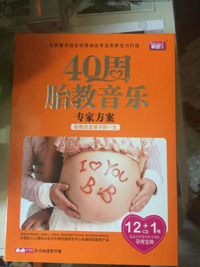 40周胎教音乐专家方案(12CD+孕婴手册) 晒单图