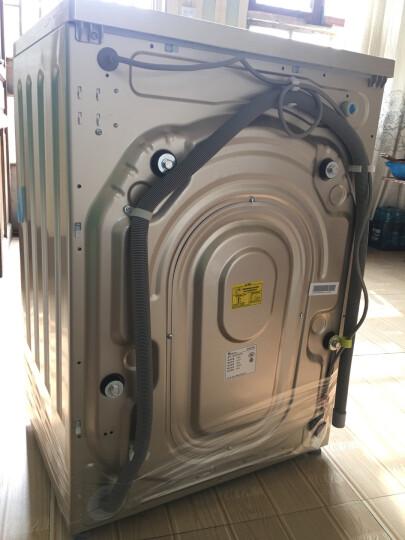 小天鹅(LittleSwan)8公斤变频 滚筒洗衣机全自动  金色超薄 智能控制 BLDC变频  TG80V80WDG 晒单图