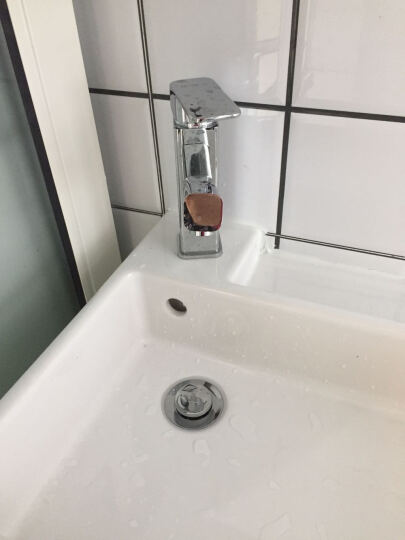 希箭HOROW卫浴全铜面盆龙头卫生间洗脸盆快开冷热水龙头 精工品质 罗马方 晒单图