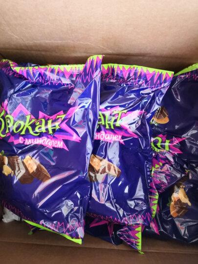 KDV紫皮糖俄罗斯进口巧克力糖扁桃仁糖士力架牛轧糖婚庆喜糖糖果酥进口紫皮糖拜年年货送礼 紫皮糖3000g 晒单图