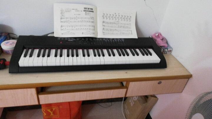 深港(ShenKong) 电子琴成人61键儿童初学者多功能教学电子钢琴 仿钢琴键盘 SK-20069 61键 教学系列 白色 晒单图