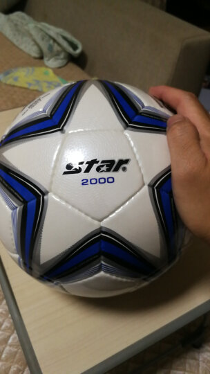STAR世达 超纤革手缝 足球 青少年足球联赛指定用球 SB375 晒单图