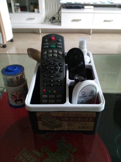糖果色塑料遥控器收纳盒 家居办公用品钥匙手机整理纸巾盒 蓝色 晒单图