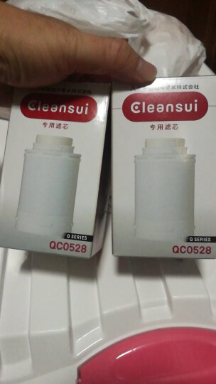 三菱化学可菱水(CLEANSUI) 净水器滤芯QC0528 适用于Q303 Q302E QC0528*2 晒单图