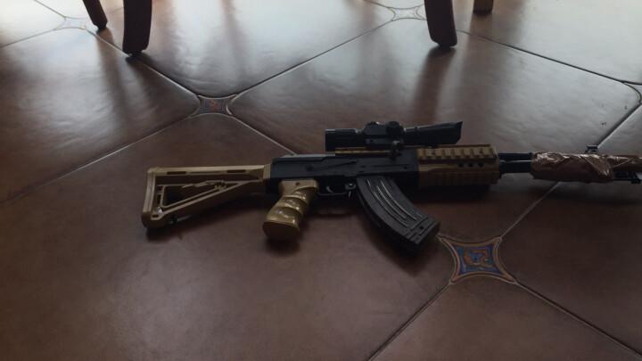 水弹枪玩具枪ak可发射模型枪儿童玩具枪男孩玩具真人CS互动对战礼物 7-8MM水弹10000发 晒单图