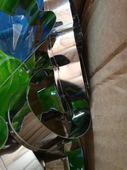 德立(DOLO) 90款不锈钢馒头切模 饼干模 圣诞卡通动物手工宝宝辅食蔬菜包子模具 26款(送装饰4个+蒸笼布) 晒单图