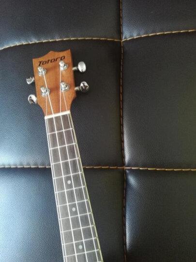 totoro 【免费刻字】尤克里里乌克丽丽21寸23寸26寸ukulele儿童新手初学女生小吉它 TU-26寸原木色 晒单图