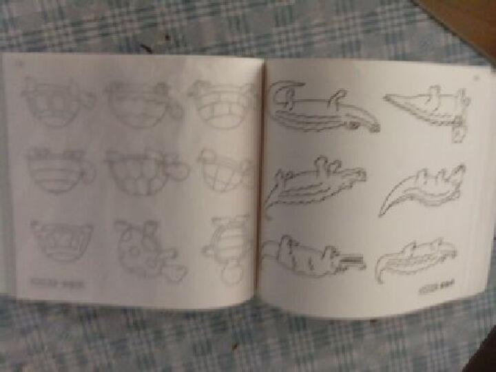 全国知名幼儿园小学专用教材:儿童绘画启蒙必备图书·蒙纸简笔画(基础篇) 晒单图