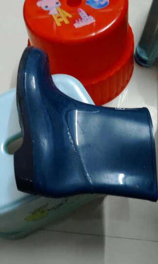 回力雨鞋 糖果色简约舒适女款套鞋雨靴 水鞋 可拆卸加绒保暖鞋 墨绿加绒 39 晒单图
