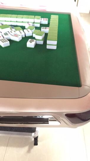 百代麻将机 全自动折叠餐桌两用电动麻将桌 家用静音四口机麻将桌 【厂送】豪华版XY02-棕红边框-手动折叠 下单请提前咨询客服麻将牌型号,拍错好麻烦的~ 晒单图
