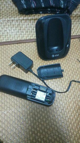 AT&T EL31109CN 红色数字无绳电话机座机单机免提通话背光家用办公固定无线电话 晒单图