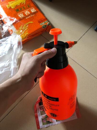 农宝 花卉植物浇水壶 浇花洒水壶 园艺浇灌水壶 家居家用洒水壶 气压喷壶 3.0L喷壶 橙色 晒单图