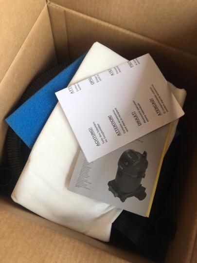 驰达美starmix德国原装进口商用NSGUclean办公室酒店地毯专用工业大功率干湿三用吸尘器 32L大面积办公型吸尘器 1432 HK 晒单图