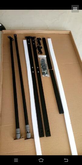 索顿 移动单/双面磁性白板支架式办公写字板会议白板教学黑板可移动支架式写字板白板 90*150黑双白板支架式+赠品 晒单图