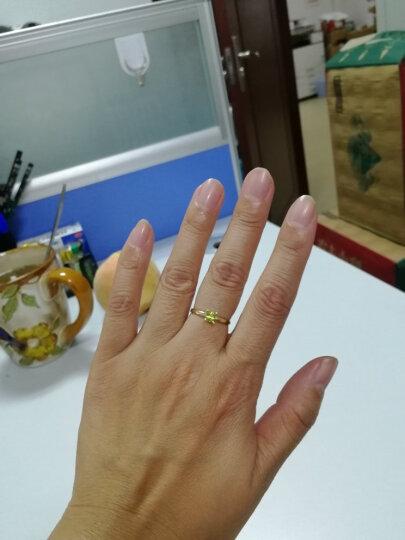 (不上架)ENZO珠宝 VAVA系列 9K金镶橄榄石戒指 橄榄石款戒指 13号 晒单图