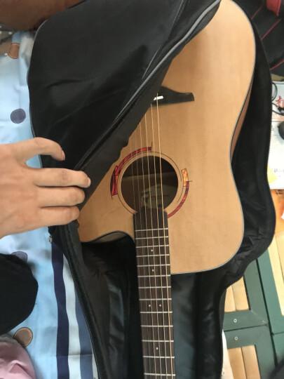 Nightwish 拉维斯 单板民谣吉他木吉他41寸初学者乐器 米维斯S 云杉 原木色 41寸 晒单图