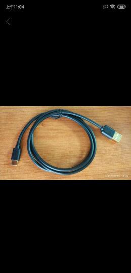晶华(JH)0380 USB二合一充电数据线 苹果安卓通用数据线 三星华为小米iphone5/5s/6/6s/SE 白色1米 晒单图