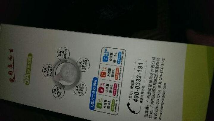 爱因美(aynmer) 爱因美 宽口径奶婴儿塑料奶瓶带吸管手柄 喝水奶瓶带感温防烫功能 蓝色 300ml 晒单图