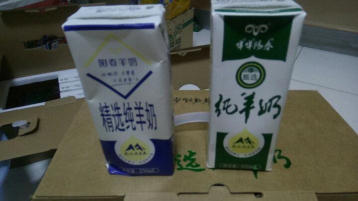 咩咩阳春 阳春羊奶纯羊奶250ML*12盒脱膻口味香浓鲜羊奶早餐奶儿童奶 纯羊奶 晒单图