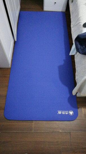 杰朴森(GEPSON)NBR10MM印花 第二代加宽80CM运动健身垫新手瑜伽垫 送配套加大加肥背包 印花款-天蓝色10MM 晒单图