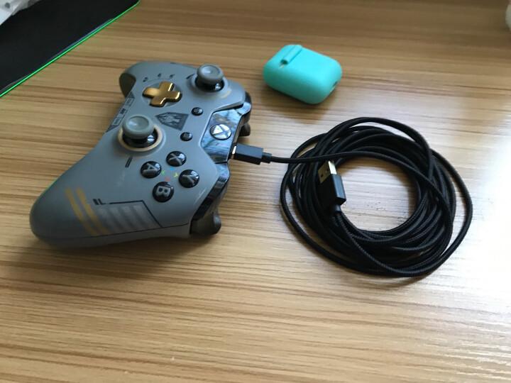 闪狐(SparkFox)Xbox One 无线游戏手柄专用高品质4M超长充电数据线软体线材 晒单图