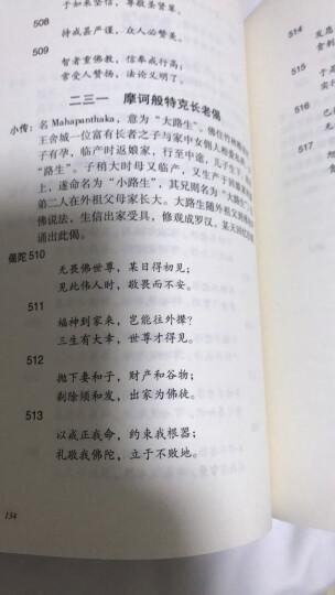 长老偈.长老尼偈(佛陀门下众弟子的诗歌合集) 晒单图