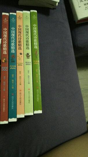 中国现代诗歌精选 (套装共5卷) 晒单图