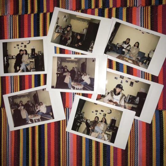 富士(FUJIFILM)INSTAX 一次成像相机  MINI相纸(胶片)白边(双包装) 晒单图