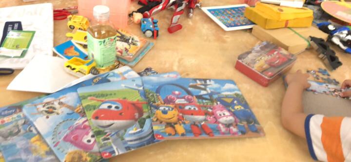 迪士尼玩具 40片框式拼图 米奇拼图儿童玩具3-6周岁(古部男孩拼图六合一)15DF2916 晒单图