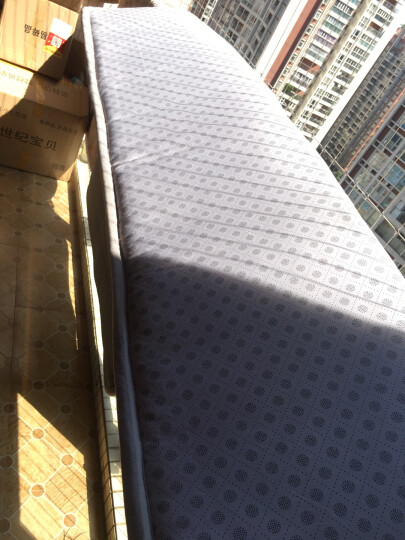 北极绒 学生单人床垫子床褥子上下铺宿舍0.9米儿童床垫秋冬厚榻榻米垫1.2m1.5m床 字母 90*195cm学生上下铺用 晒单图