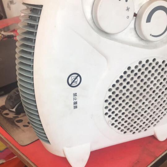 暖风机电暖气家用节能热风取暖器小型暖风机电暖器浴霸暖风机台式电暖扇迷你取暖器浴室电暖器 1 晒单图