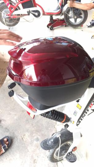 法克斯(FRRX) 折叠电动车自行车减震代驾车代驾宝 14寸助力锂电车男女通用 炫红色(48V16A)约90公里 晒单图