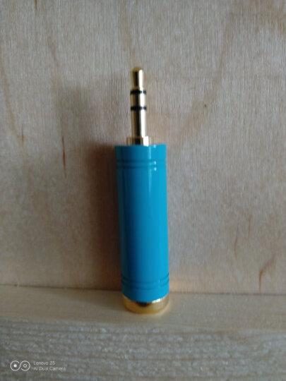 威迅(VENTION)手机耳机转换器 2.5mm转3.5mm公对母音频线转接头 2.5转3.5音响小转大插头转换线 黑VAB-S02 晒单图