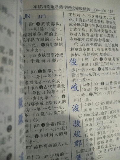 新编小学生字典(双色本)(第4版) 晒单图