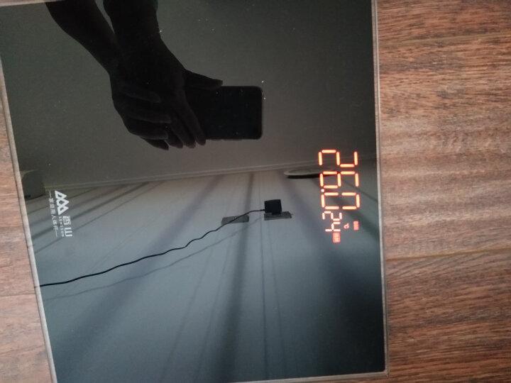 香山 EB829HJ 电子称人体秤 体重秤(至酷黑) 晒单图