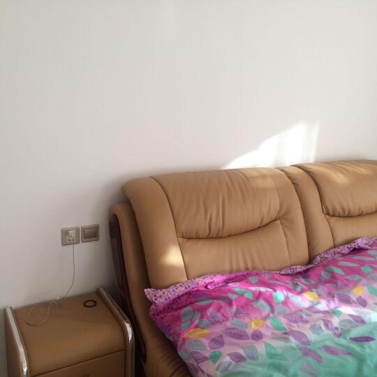 多缘佰兰 皮床 皮艺床 小户型皮床 现代皮软体婚床 双人床 床 软床 储物床. 框架床+床垫+床头柜*2 1800*2000 晒单图
