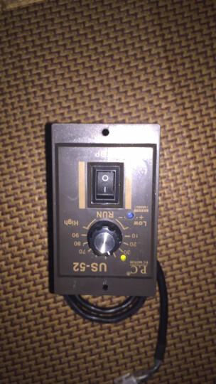 鹏丞(p.c) 交流220V电机 马达 减速电机调速器 调速开关 调速器 120W 晒单图