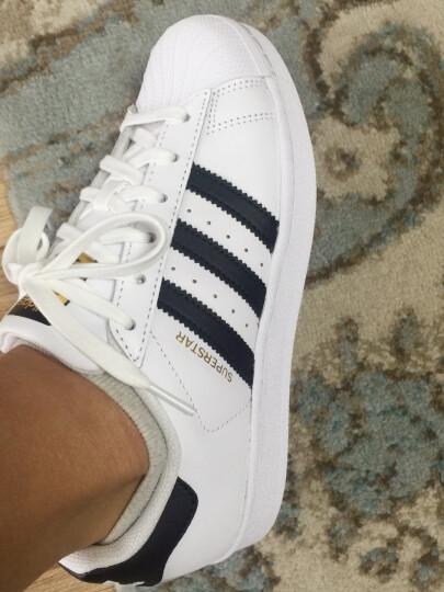 阿迪达斯官网adidas 三叶草SUPERSTAR男女鞋经典运动鞋板鞋C77124 如图 41 晒单图