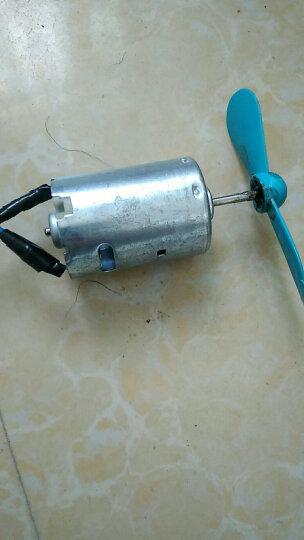 千水星 长轴亮壳545电机 大扭力直流电机 12-24v微型高速马达 DIY创客模型电动机配件 铁后盖 晒单图