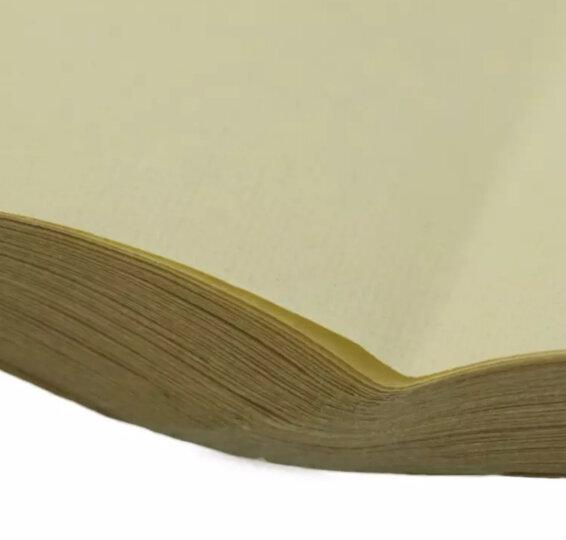 宁宣宝阁 文房四宝宣纸批发书法练习纸毛边纸 练习纸 蔡伦元书纸 四尺四开格宽 9cm70张 毛边纸 晒单图