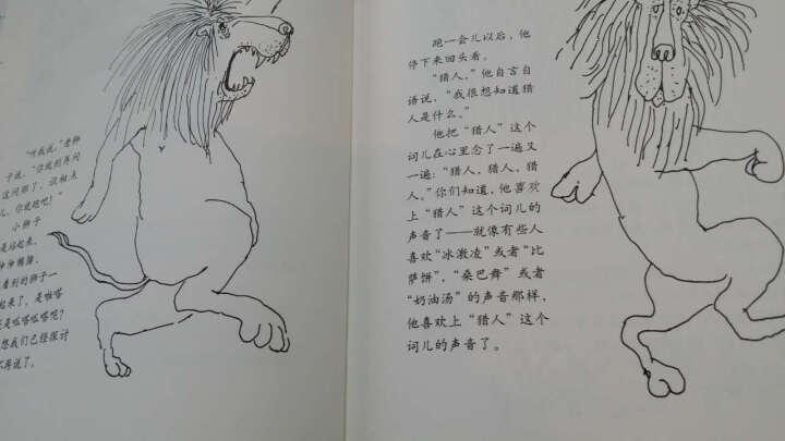 爱心树绘本:谢尔希尔弗斯坦:一只会开枪的狮子 [3-6岁] 晒单图